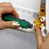Legrand opbouwkast 4 rijen-72 mod. doorzichtige deur - XL³ 125