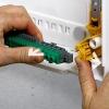 Legrand opbouwkast 3 rijen-54 mod. doorzichtige deur - XL³ 125