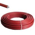Henco geïsoleerd Ø26x3 rood ISO4 - 50m