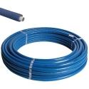 Henco geïsoleerd Ø26x3 blauw ISO4 - 25m