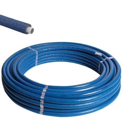 Henco geïsoleerd Ø32x3 blauw - 25m