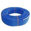 Henco mantel RIXc Ø16x2 blauw - 100m