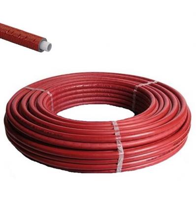 Henco geïsoleerd Ø18x2 rood ISO9 - 50m