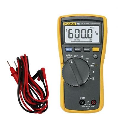 Fluke-114 elektrische RMS multimeter tot 600V AC/DC