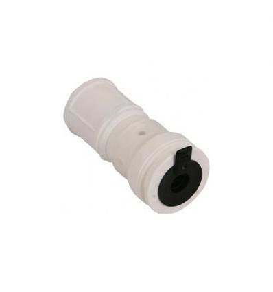 Henco VISION doorverbinder voor montage op verdeler of verlengstuk 20mm