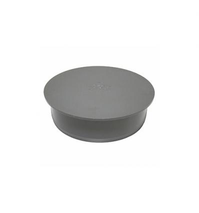 Wavin pvc afsluitkap spie-eind (lijm) 50mm