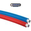 Henco met mantel Ø16x2 rood 100m
