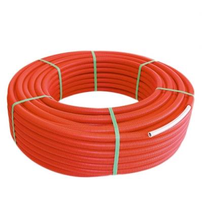 Henco met mantel Ø26x3 rood 50m