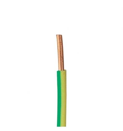 VOB 6mm² GEEL/GROEN per meter