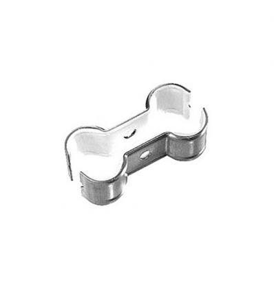 Rofix buisbeugel dubbel 1/2'' geïsoleerd d20-23 mm hartafstand 52mm
