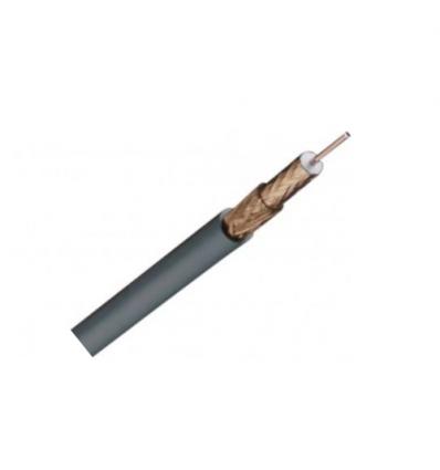 Coax 75 Ohm Telenet PVC grijs indoor - per meter