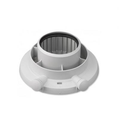 Vaillant concentrische adapter d: 80/125 mm ecoTEC