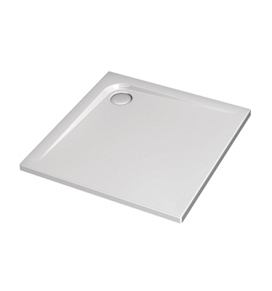 Ideal Standard Ultra flat 80x80x4,7cm wit