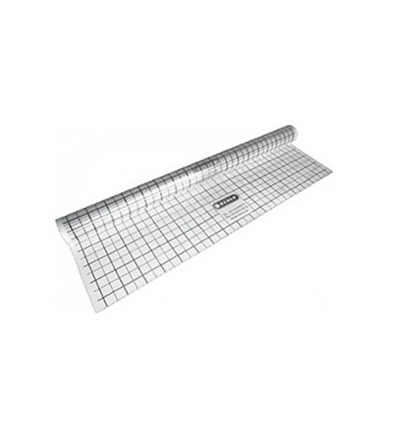 Henco PE-folie met raster 50x50mm - 90m²